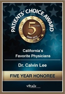 Dr. Wu may have graduated #1 from Ivy League Medical School, but I got this award, ha!